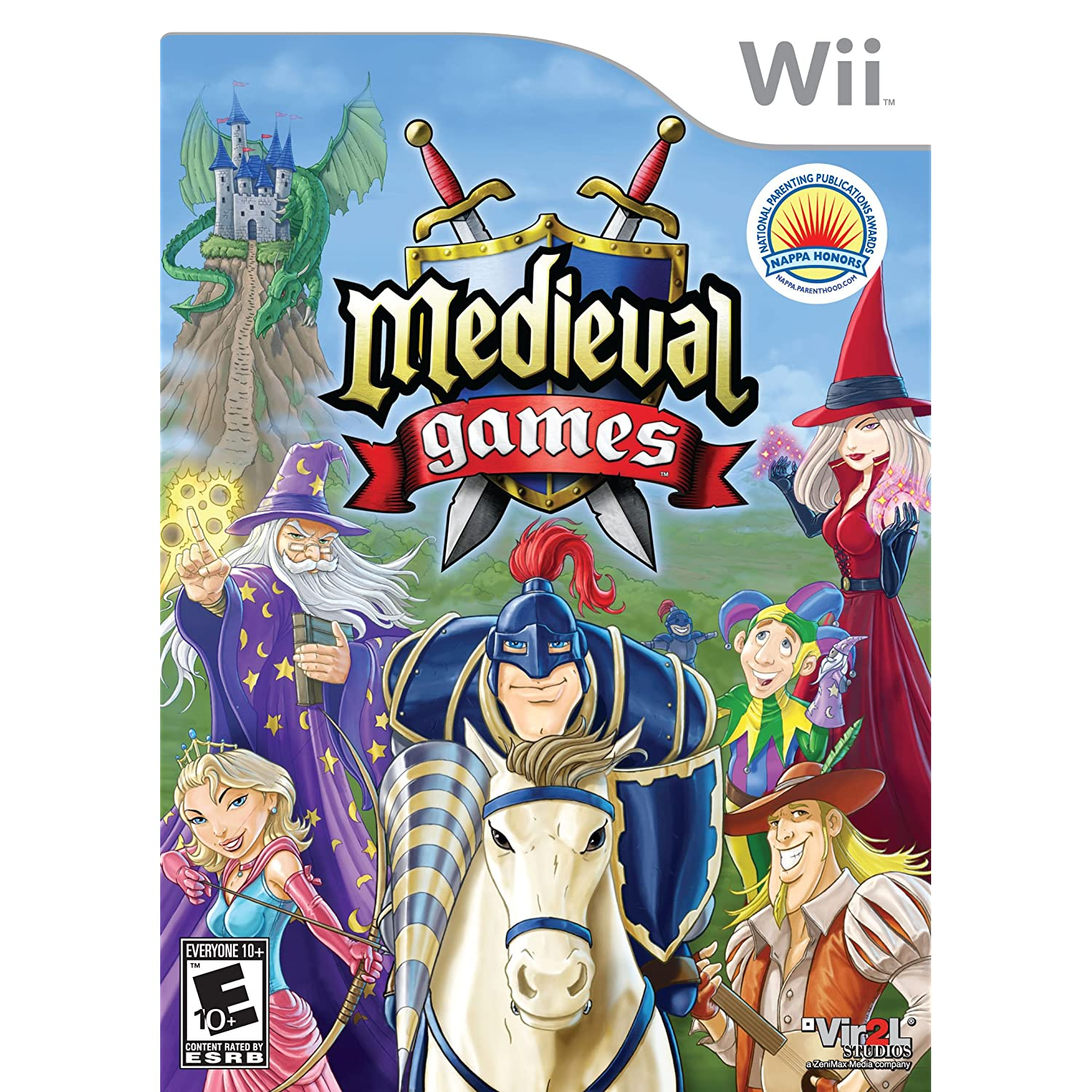 Game, Video Game, Video Games, Wii Game, Nintendo Wii, Medieval Games