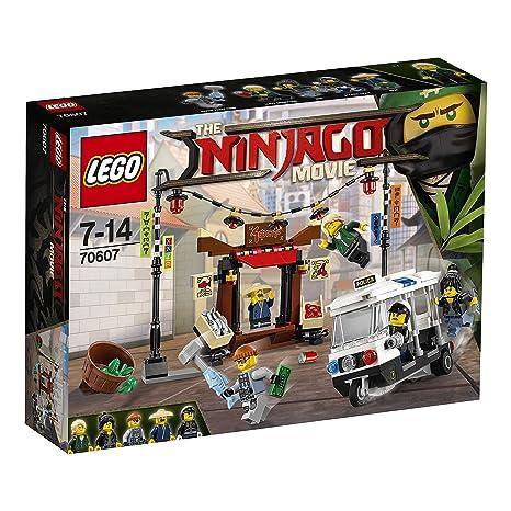LEGO - 70607 - LEGO Ninjago - Jeu de Construction - La Poursuite dans la Ville