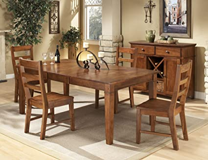 Janes Gallerie Scottsdale 7-piece Spice Finish Dining Set