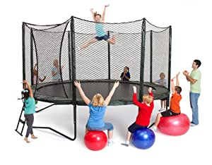 AlleyOop 14' VariableBounce with Integrated Safety Enclosure