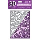 Die'Sire EF5-3D-REGSW 3D Embossing Folder, Clear (Color: Clear)