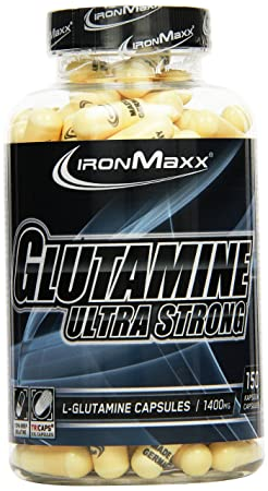 Ironmaxx Glutamin Ultra Strong 150 Kapseln, 1er Pack (1 x 0.24 kg)