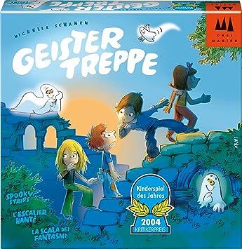 """Drei Magier Spiele - 40811 - Jeu de société """"Geistertreppe"""" - Langue: allemande"""