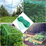 Green Anti Bird Protection Net Mesh Garden Plant Netting Protect Plants and Fruit Trees from Rodents Birds Deer Poultry Best for Seedling,Vegetables,Flowers,Fruit,Bushes,Reusable Fencing 13.2Wx20L(Ft) (Tamaño: 13.2Wx20L(Ft))