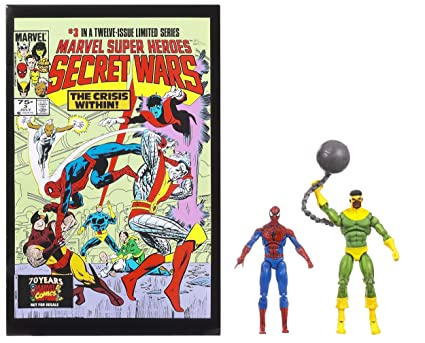 MARVEL SUPER HEROES SECRET WARS #3 SPIDER-MAN ET THUNDERBALL 9.5cm FIGURINES