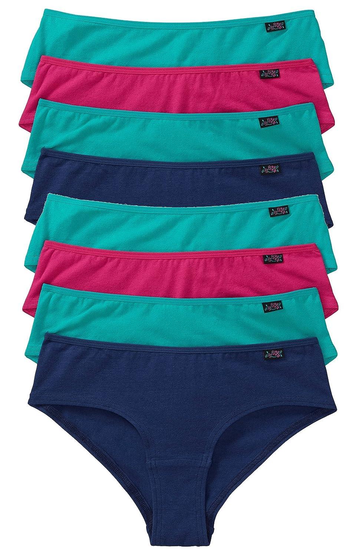 """8er-Pack Panties """"Sport"""" Damen Panty Damenslips Slip im Multipack aus Baumwolle Unterhosen in 3 Farben , Größe 36/38 bestellen"""