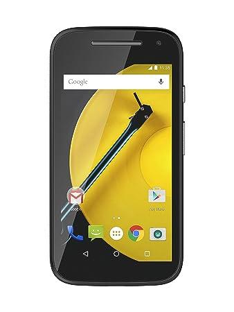 Motorola XT 1524 Moto E (2nd Gen.) Smartphone débloqué (4.5 pouces - 8 Go) Noir (import Espagne)