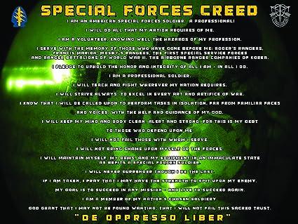 Special Special Forces Special Forces Poster Special