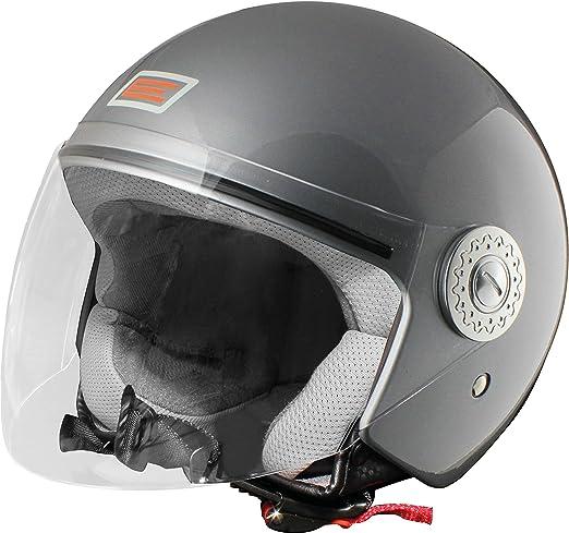 Origine helmets 201522013200006 Casque Ecco, Taille : XL, Brillant Argenté
