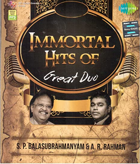 Immortal Hits of Great Duo S P Balasubrahmanyam  amp; A R Rahman available at Amazon for Rs.99