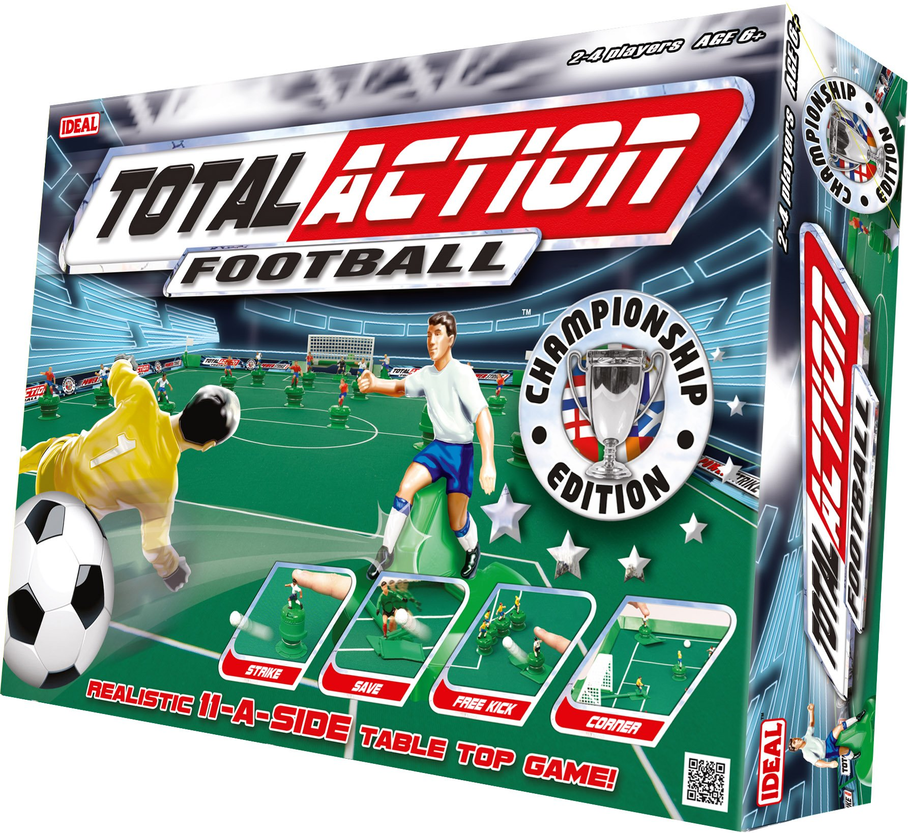 Football Players Toys For Toddlers : Total action football realistic toy table top