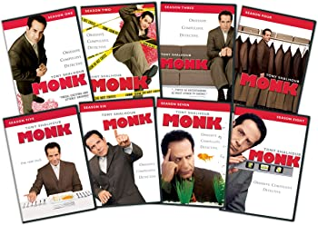 Monk: The Complete Series on DVD