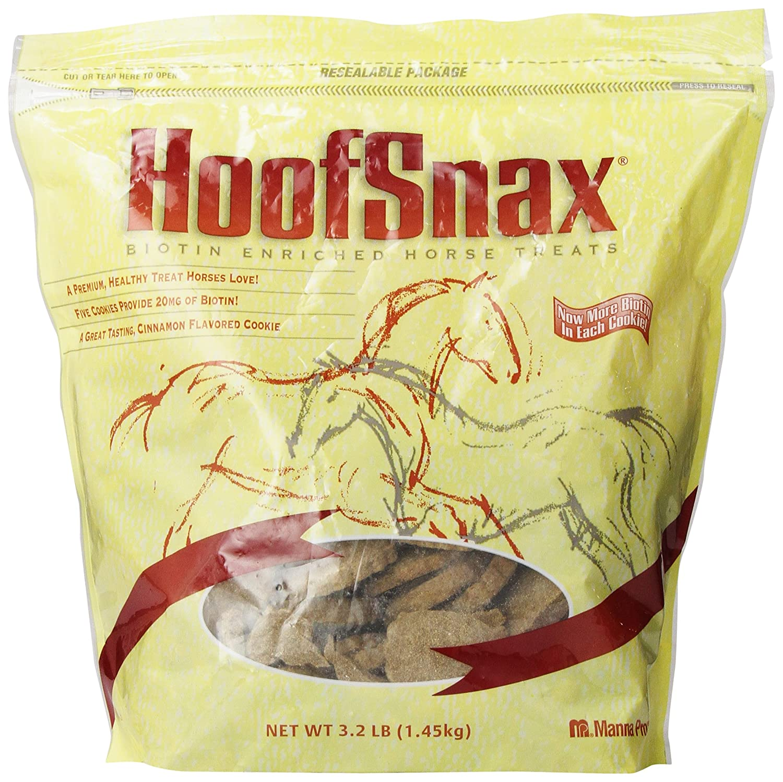 Manna Pro 0593520234 Hoof Snax Biotin Enriched Horse Treats, 3. 2-Pound