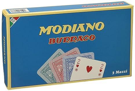 Modiano buraco Jeu Cartes 3cartes pour 6joueurs