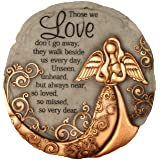 Spoontiques 13260 Bronze Angel Stepping Stone