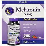 Natrol Melatonin 5 mg, 250 Fast Dissolve Tablets
