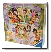 Ravensburger Disney Fairies 3 in Box Puzzles