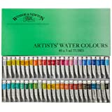 Windsor & Newton Artists Water 5ML tube 48C set (japan import) (Color: 48colors)