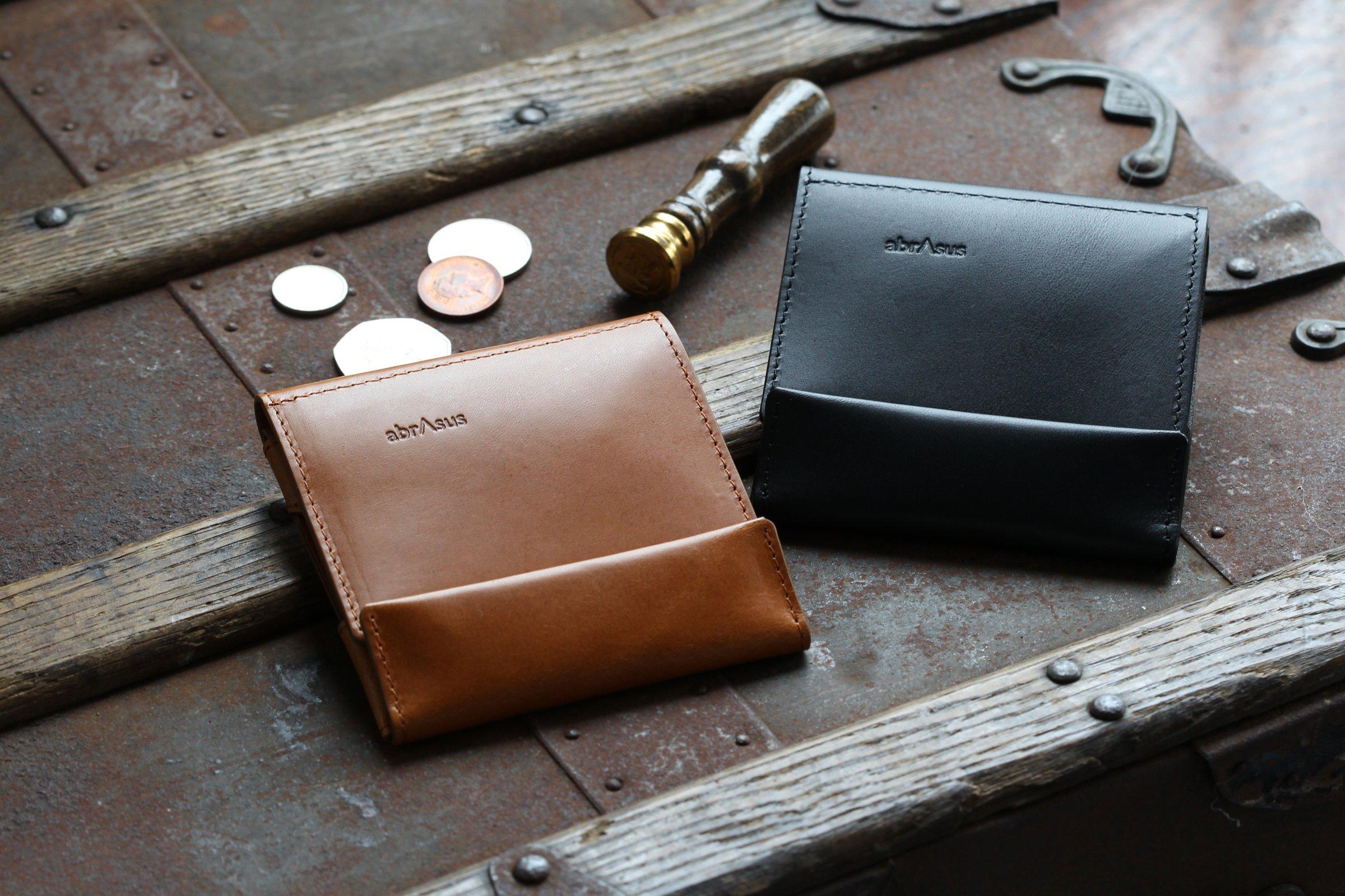 薄い財布 abrAsus アブラサス 最上級ブッテーロレザーエディション