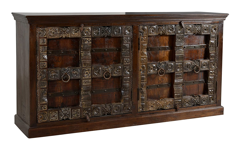 SIT-Möbel 5113-30 Sideboard Almirah, 180 x 45 x 90 cm, recyceltes Holz, braun