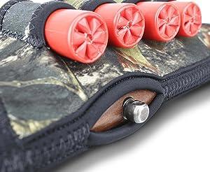 Beartooth Comb Raising Kit 2.0 - Neoprene Gun Stock Sleeve + (5) Hi-density Foam Inserts - SHOTGUN MODEL (Mossy Oak Break-up) (Color: Mossy Oak Break-up)