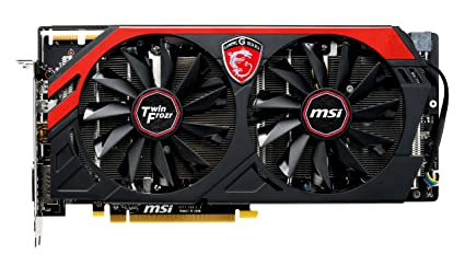 MSI R9 280 GAMING 3G Carte Graphique ATI AMD Radeon R9 280 933 MHz 3072 Mo PCI-Express