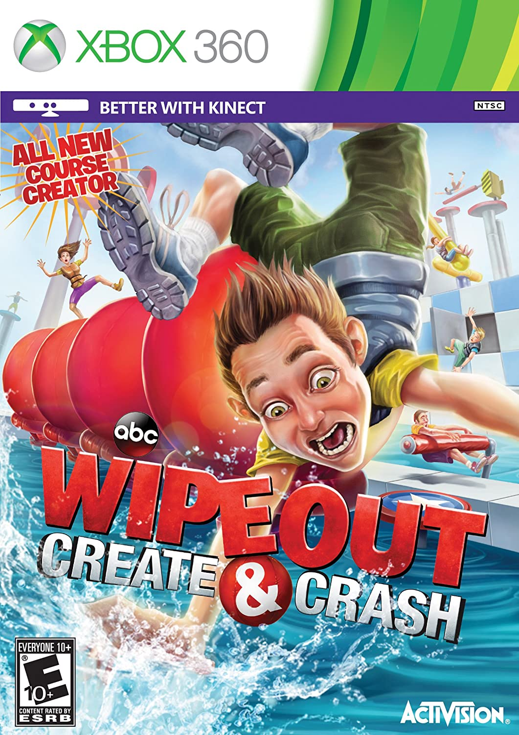 Wipeout: Create & Crash [XBOX 360] $15.00