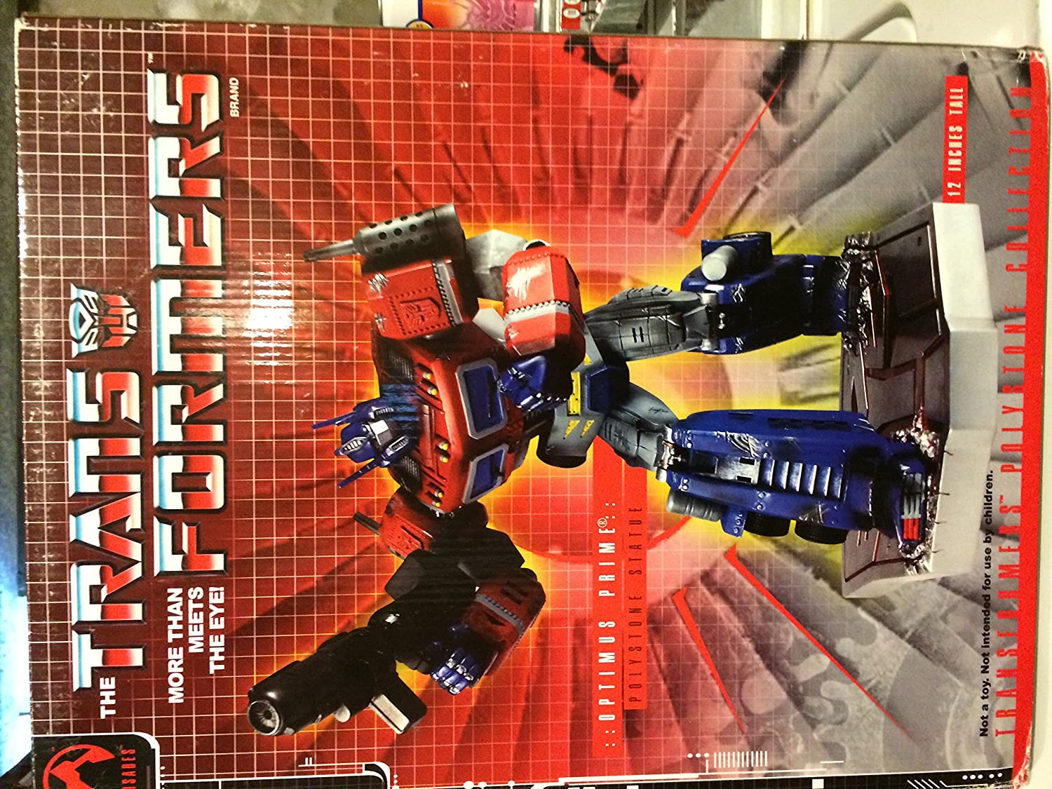 Palisades Transformers Optimus Prime 12 Statue Limited Edition transformers маска bumblebee
