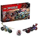 LEGO NINJAGO Street Race of Snake Jaguar 70639 Building Kit (308 Piece)
