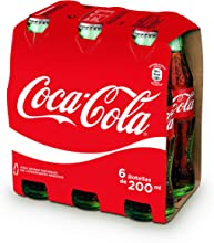 Comprar Coca-Cola - Botellín de Cristal 200 ml (Pack de 6)