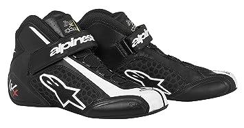 ALPINESTARS 2712113-12 Chaussures Kart, Noir/Blanc, Taille : 9
