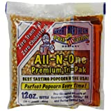 4111 Great Northern Popcorn Premium 12 Ounce Popcorn Portion Packs Cinema, Case of 24
