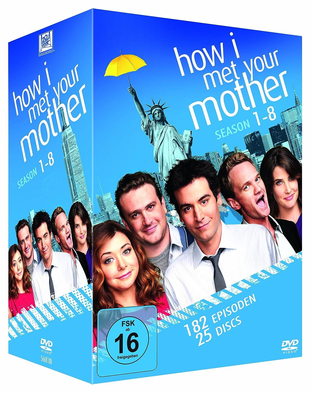 How I Met Your Mother - Season 1-8 Komplettbox (exklusiv bei Amazon.de) [25 DVDs] 74,30€ inkl. Versand
