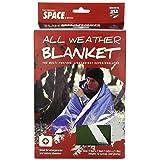 Grabber 8313AWBGR  Outdoors Original Space Brand All Weather Blanket: Olive, 5 Feet X 7 Feet,  Box