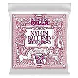 Ernie Ball Ernesto Palla Nylon Black and Gold Classical Ball End Set (Color: Black & Gold, Tamaño: Custom)