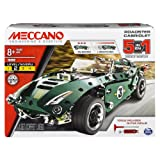 Meccano 5M Set Pull Back Car Building Kit