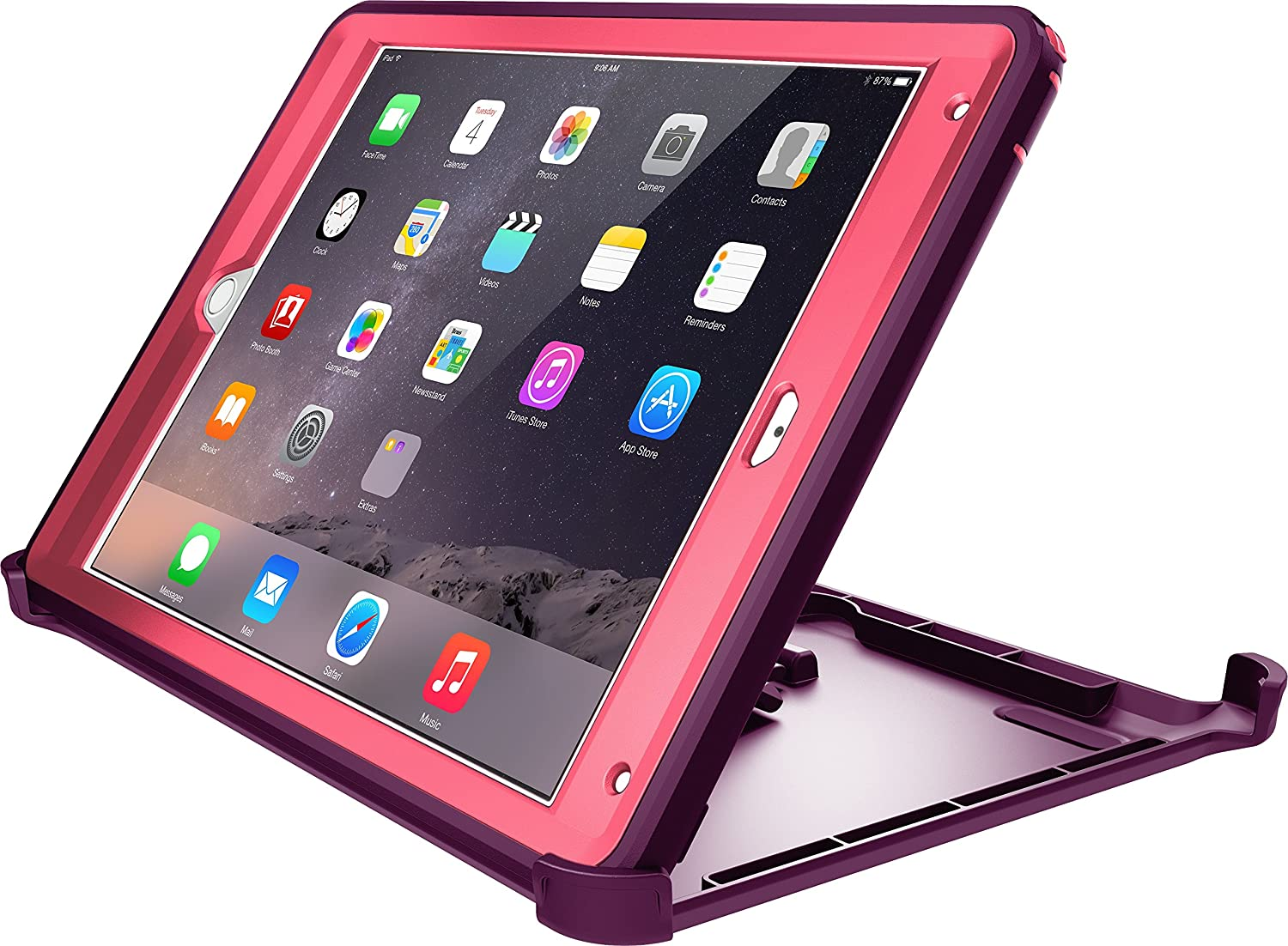 OtterBox Defender Series Case for iPad Air 2 – Crushed Damson