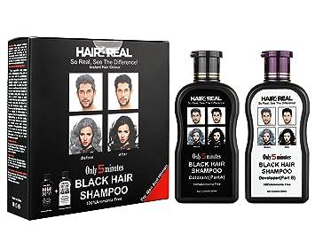 Outstanding Buy Hair4Real Hair4Real 5 Minute Instant Black Hair Color Shampoo Hairstyles For Men Maxibearus