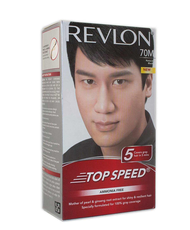 Revlon Top Speed Men Hair Colour 6m Hair Color Homeshop18