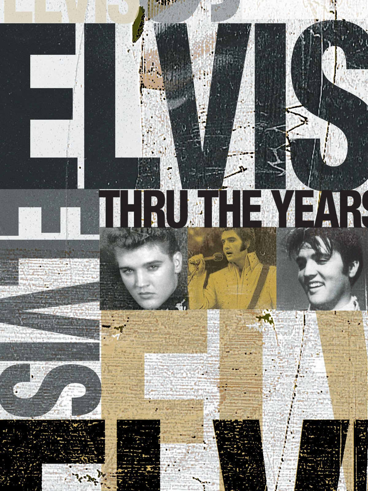 Elvis Thru The Years