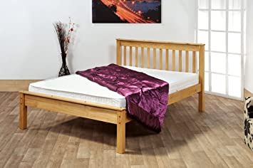 4'6 CHESTER BED WITH MEMORY FOAM 5000 MATTRESS