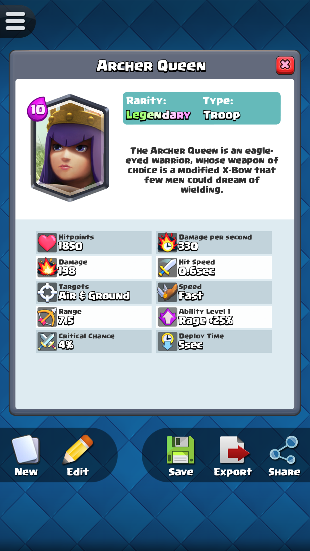 Psp united states card creator for clash royale