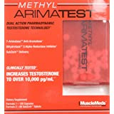 MuscleMeds METHYL ARIMATEST - 120 Capsules/60 SubZorb Tablets (Tamaño: 120)