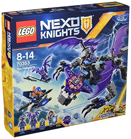 LEGO - 70353 - Nexo Knights - Jeu de Construction - L'héli-gargouille