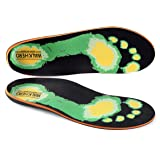 Orthotic Shoe Insoles for Flat Feet Arch Supports for Plantar Fasciitis Arch Pain Inserts Foot Pain Relief Feet Inserts Hiking Casual Shoes, Sneakers,Athletic Shoes,Mens 8 - 8 1/2 | Womens 10 - 10 1/2 (Tamaño: Mens 8 - 8 1/2 | Womens 10 - 10 1/2)