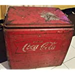 Vintage Coca Cola Coke 1950's Cooler Freezer In Fair Condition RARE