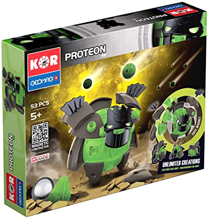 Kor - GEO611 - Jeu de Construction - Proteon Aki - 53 Pièces