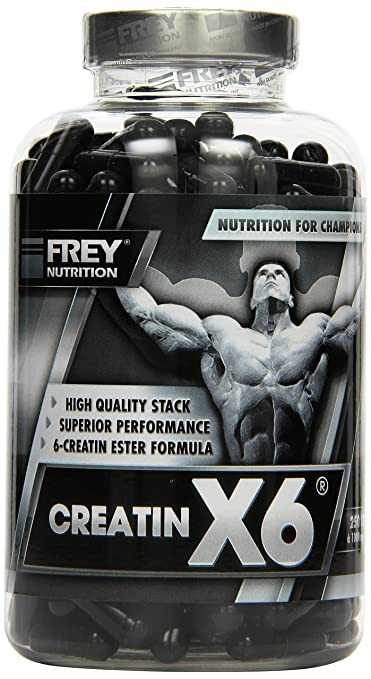 Frey Nutrition Creatin X6, 1er Pack (1 x 250 g)