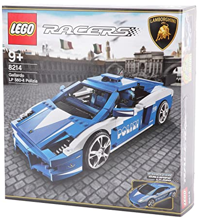 LEGO - 8214 - Jeux de construction - LEGO racers - Gallardo LP 560-4 Polizia