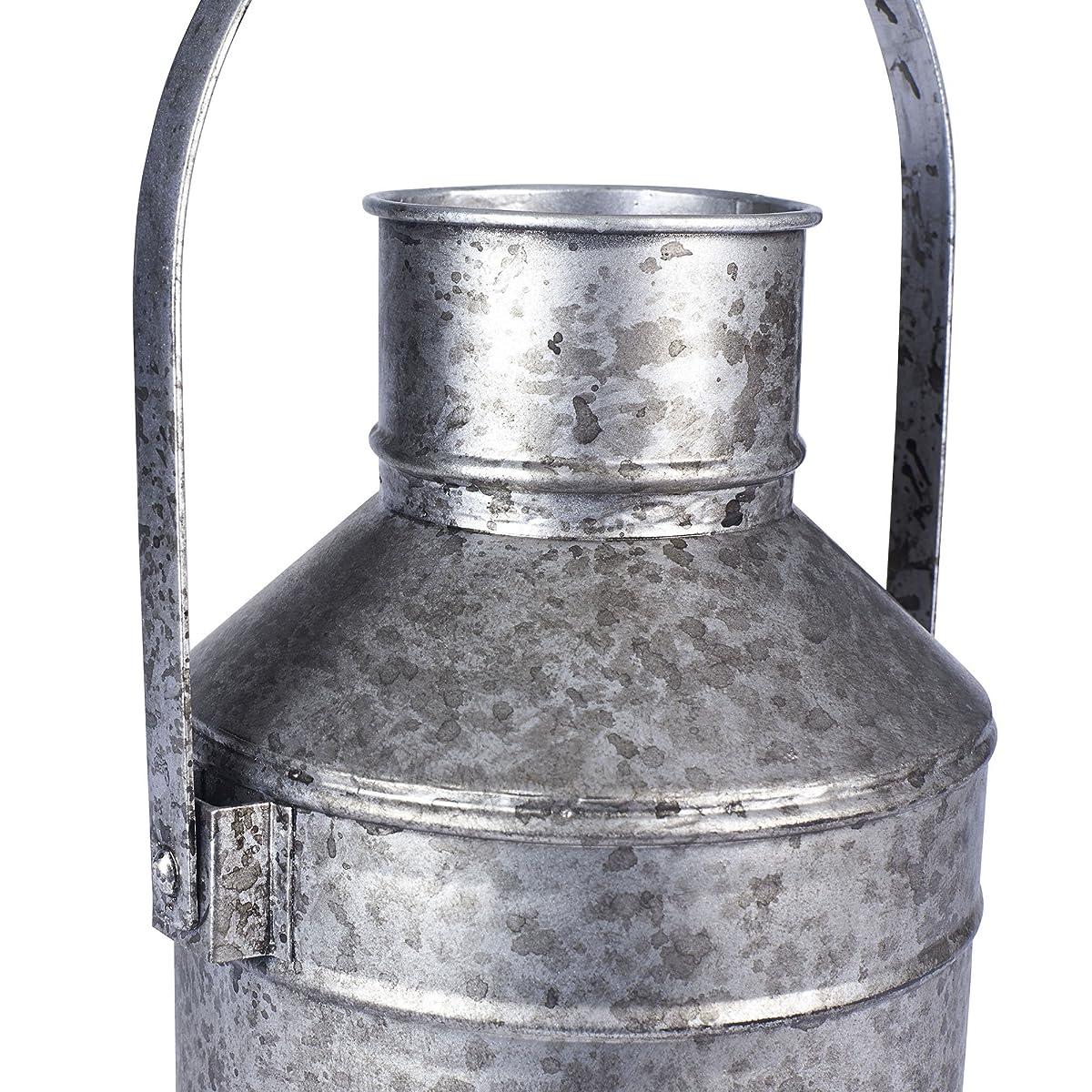 Vintage Style Milk Pail Vase